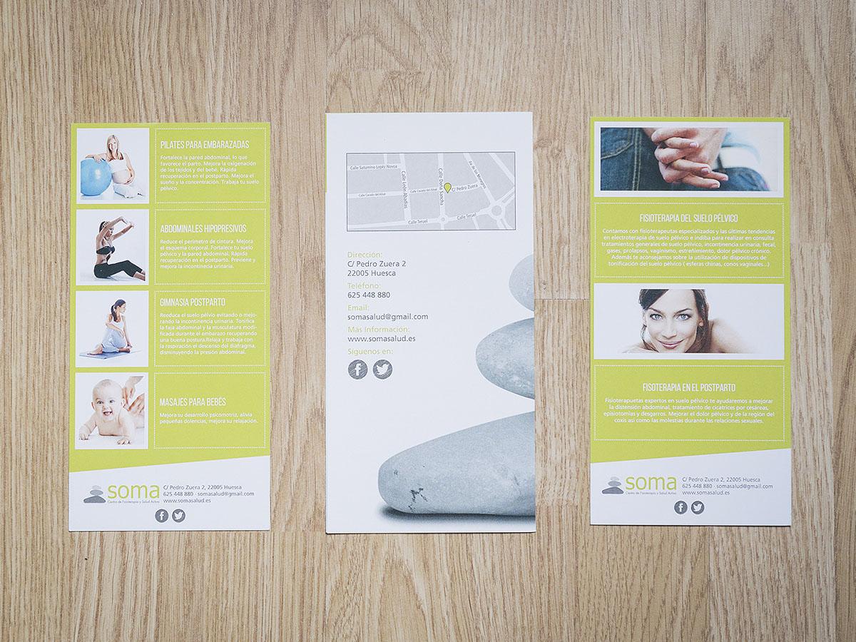 Flyer Soma Centro de Fisioterapia