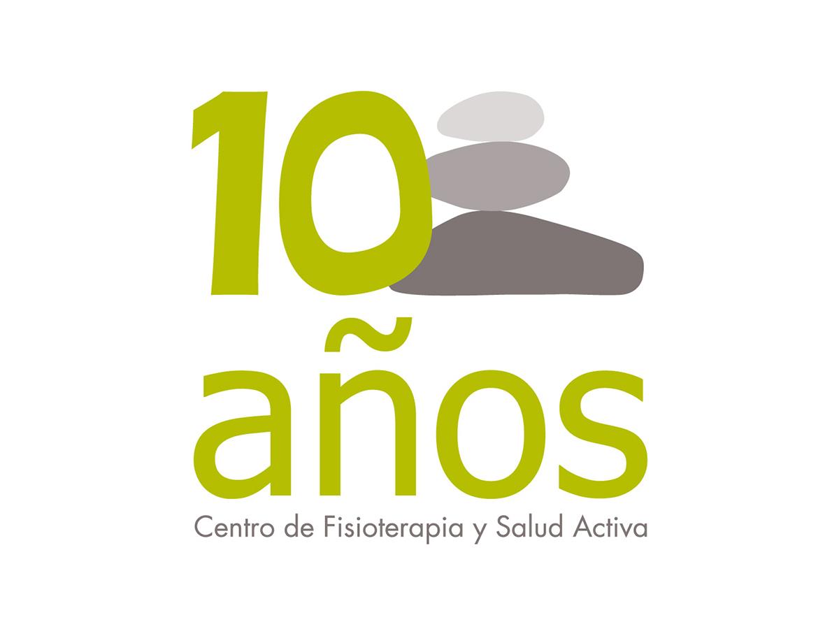 Logotipo Aniversario Soma Centro de Fisioterapia