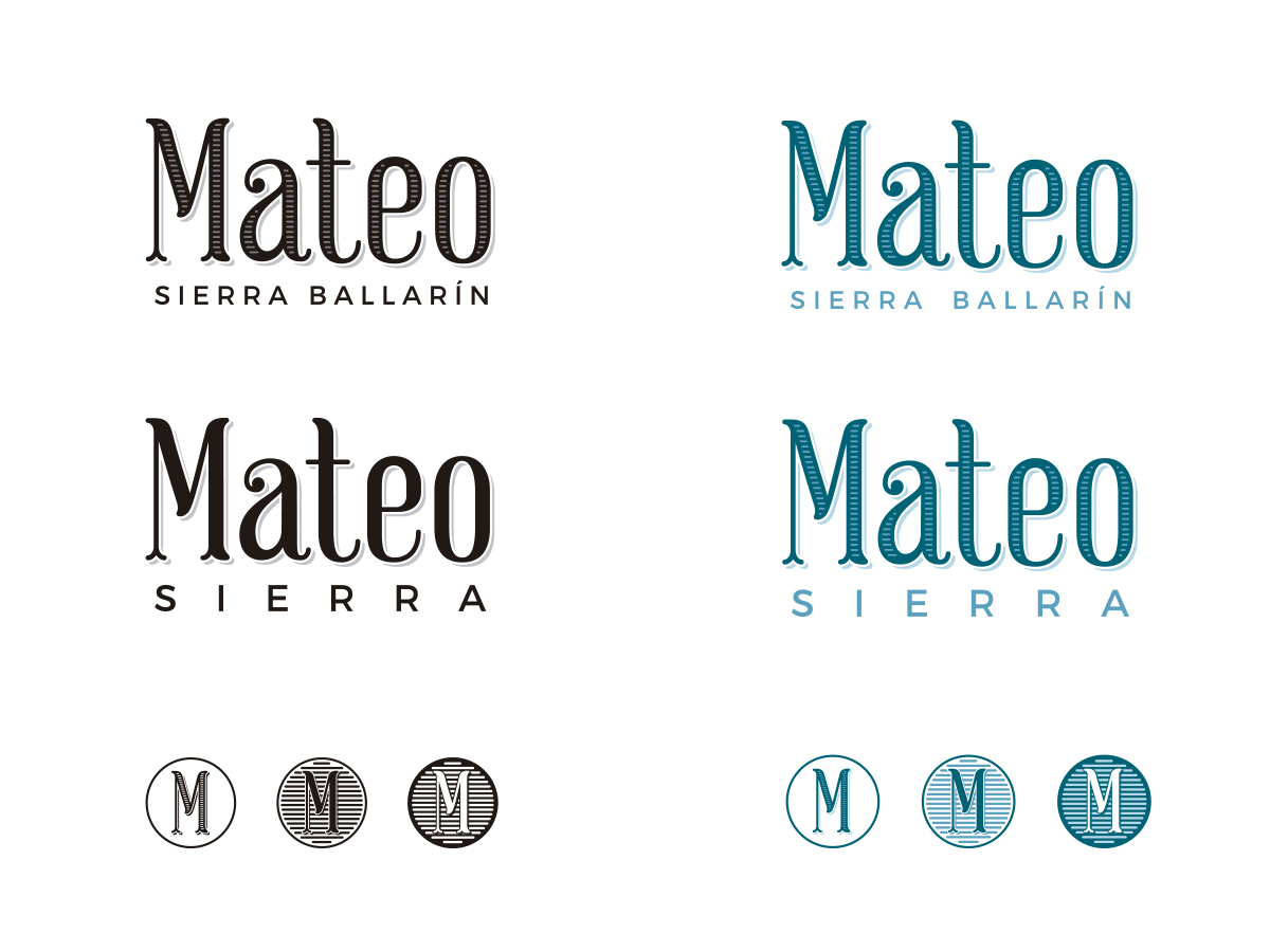 Logotipo y Sello Mateo Sierra