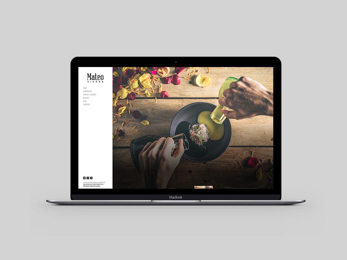 Web Design Mateo Sierra Cocina Sin Gluten