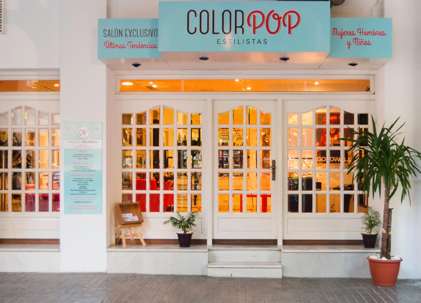 Diseno Local Comercial ColorPop Estilistas