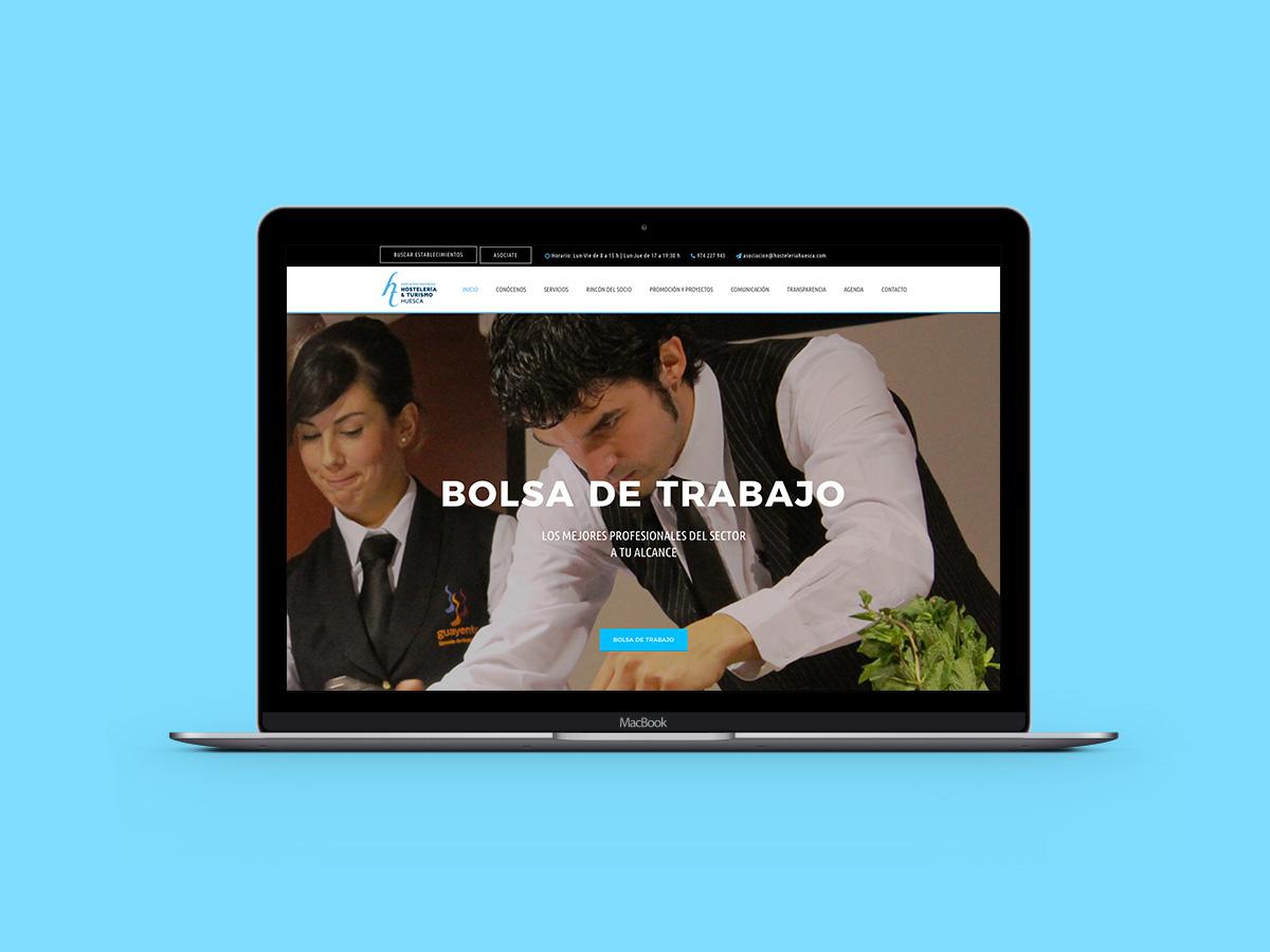 Web Asociacion Hosteleria y Turismo Huesca