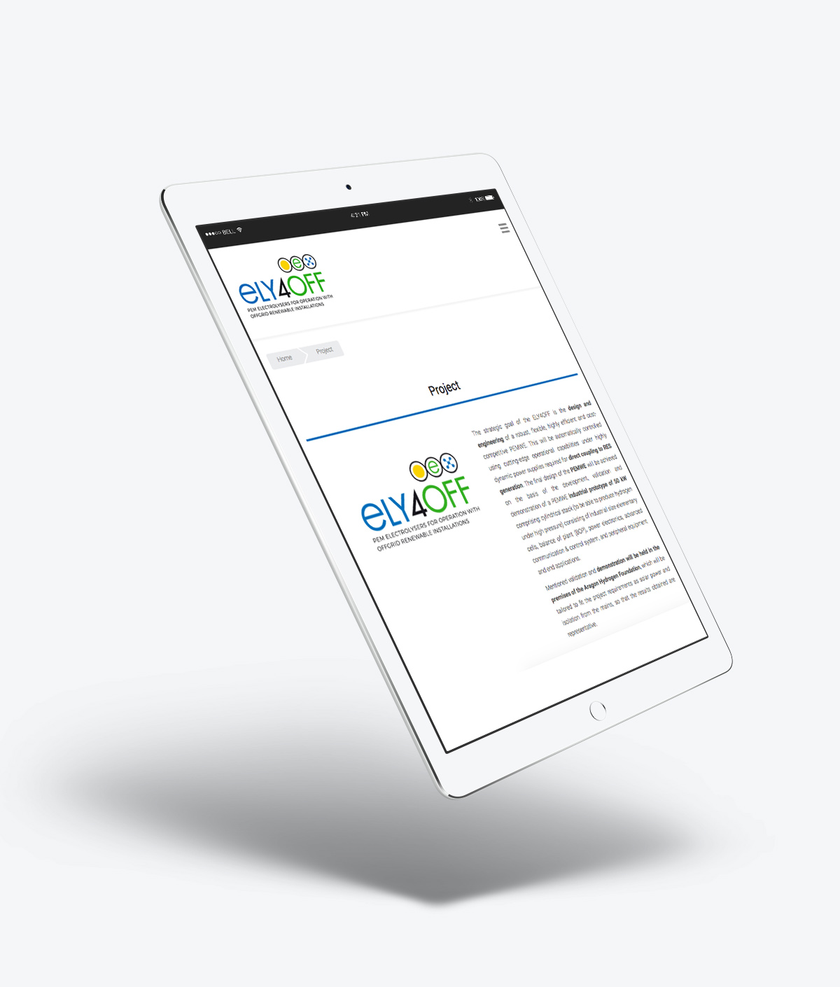 Web Proyecto Ely4off FHA Huesca
