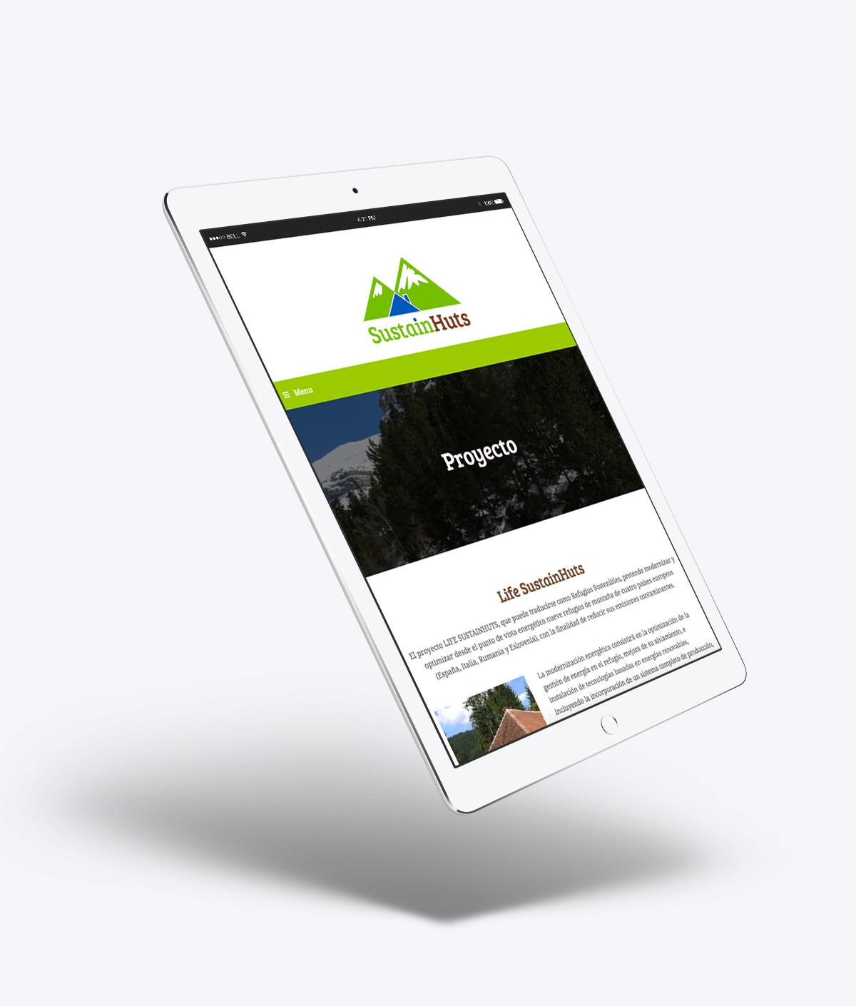 Web Proyecto SustainHuts FHA