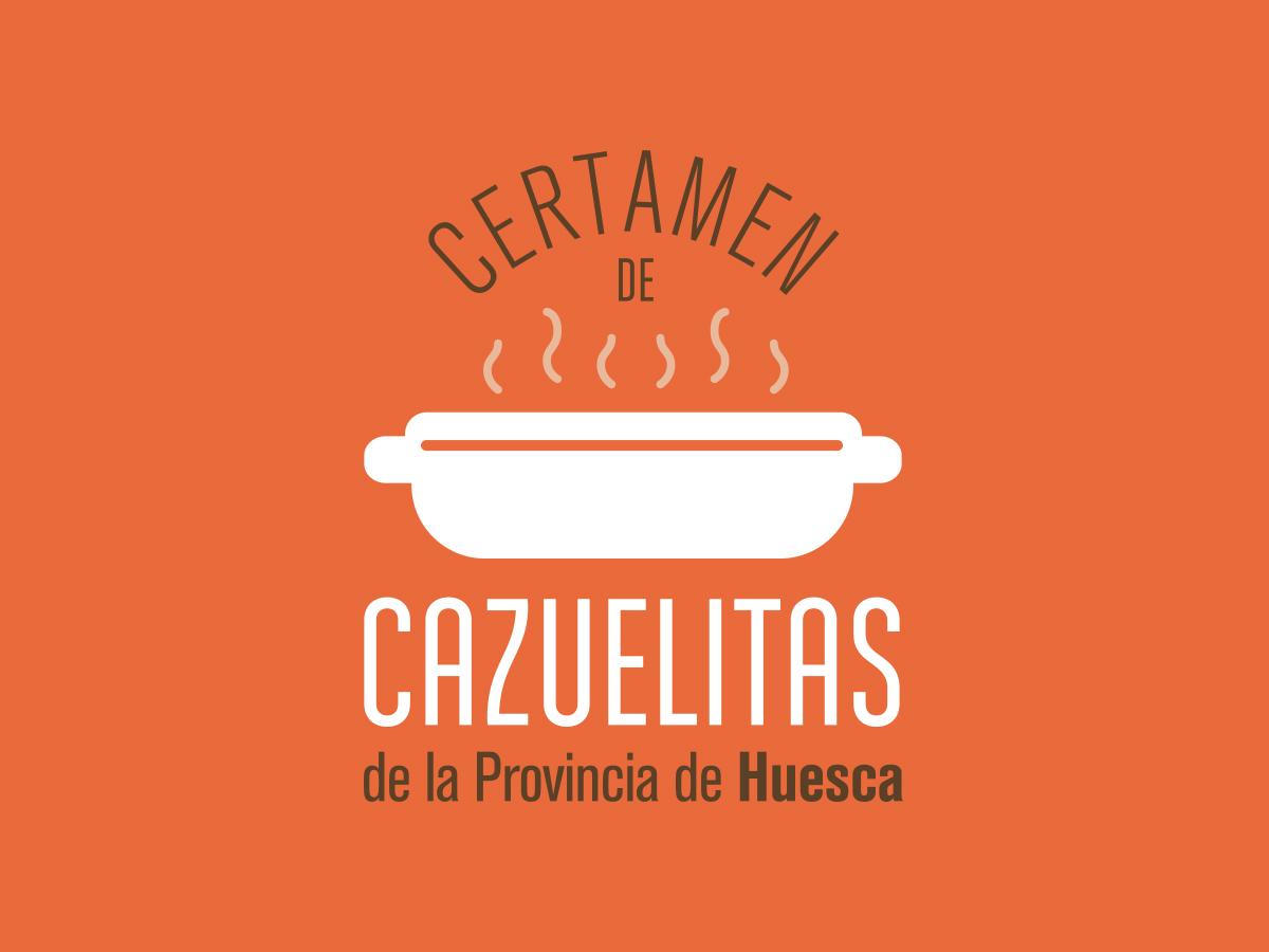 Logotipo Certamen Cazuelitas Provincia de Huesca