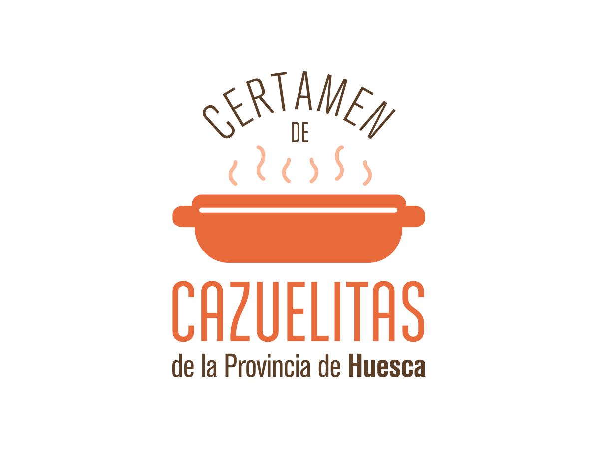 Logotipo Certamen de Cazuelitas de la Provincia de Huesca