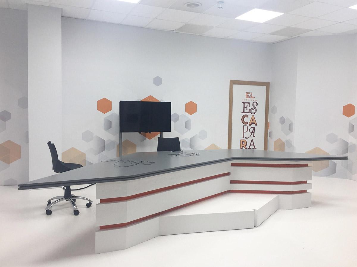 Grafica Aplicada Plato Huesca Television