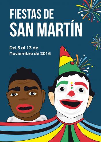 graphic design poster barrio san martin huesca