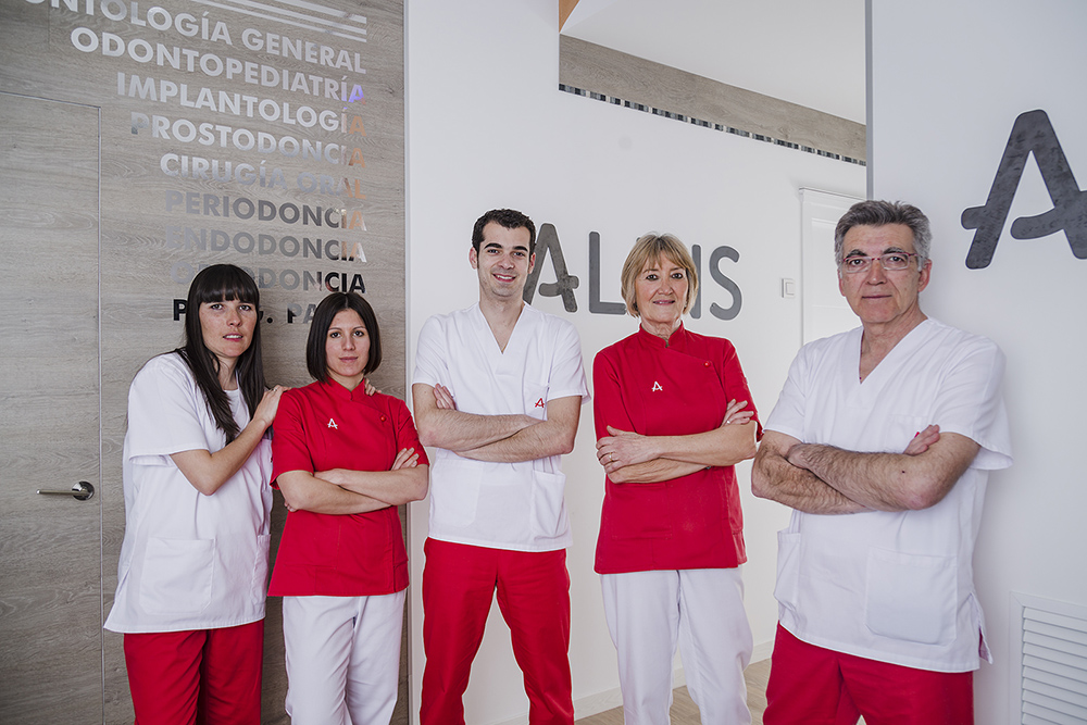 Uniformes Alins Clinica Dental Huesca