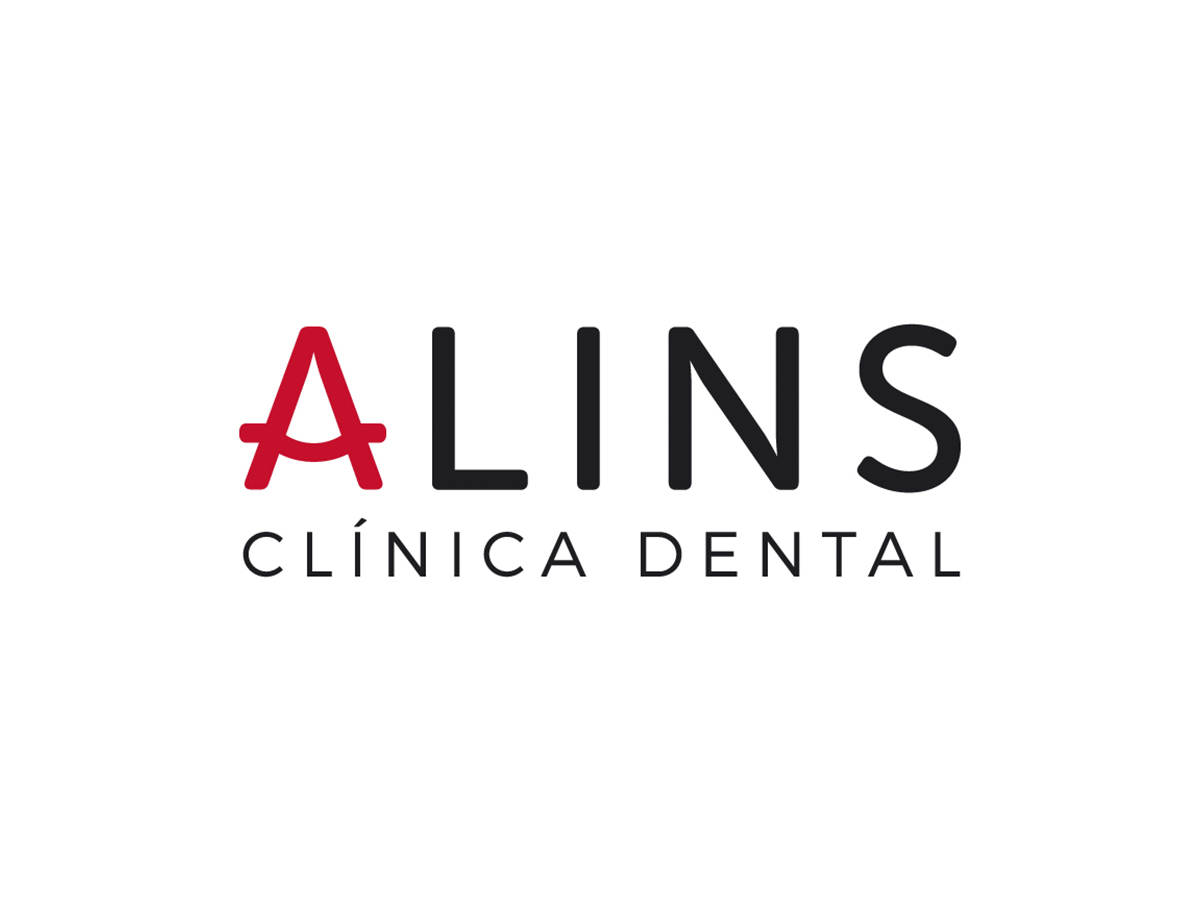 Logotipo Alins Clinica Dental Huesca