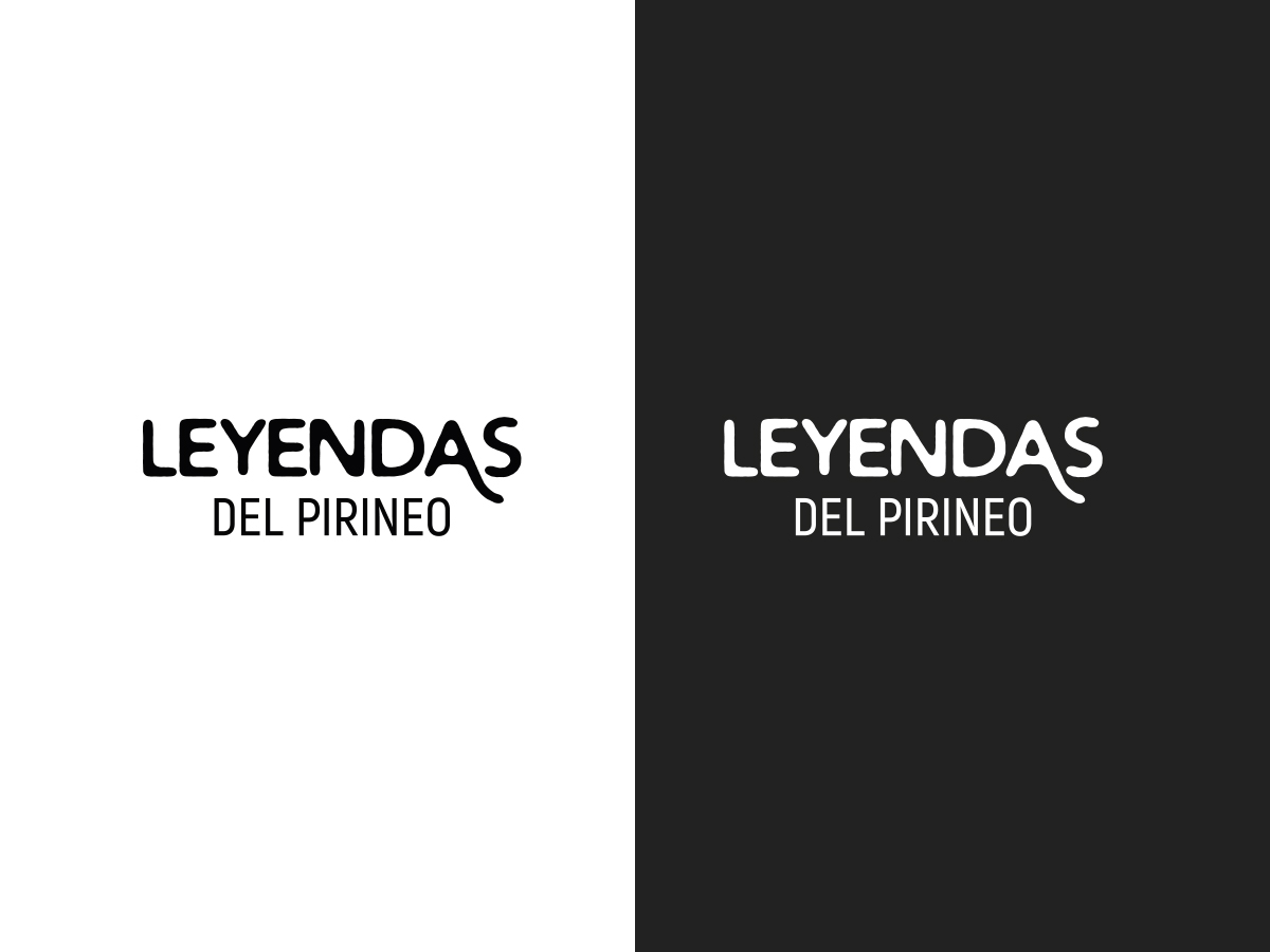 Version Horizontal Logo Leyendas del Pirineo