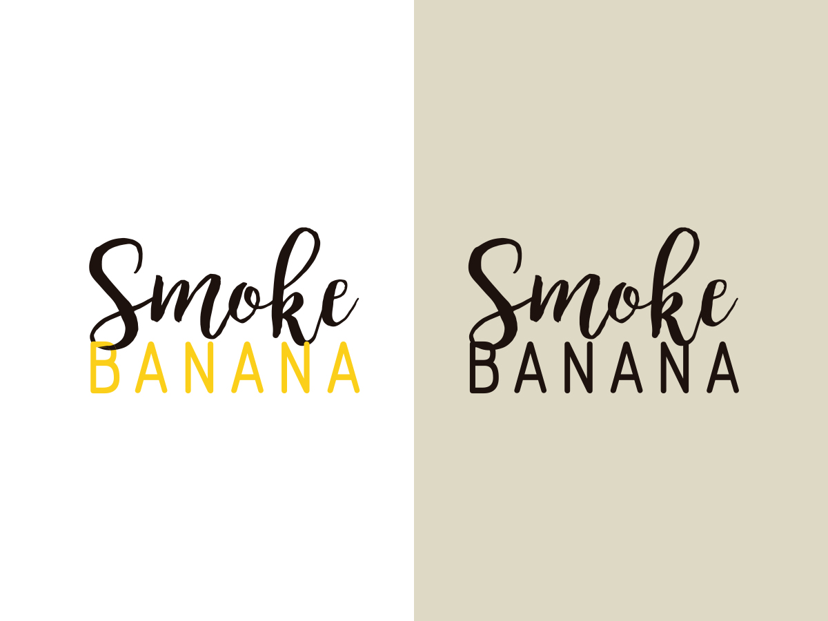 logotipo smoke banana